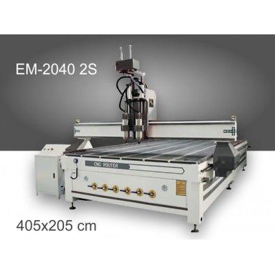 CNC рутер EM-2040 2S с 2 шпиндела
