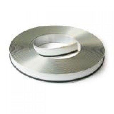 Алуминиев кант Alu3D - Oгледално сребро 90mm